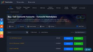 ourWorld Accounts | Buy ourWorld Account Cheap | PlayerAuctions