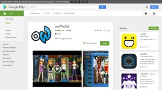 ourWorld - Apps on Google Play