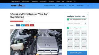 5 Signs and Symptoms of Your Car Overheating - Oards.com
