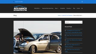 Signs Your Car is Overheating - Rita Ranch Automotive & Tire