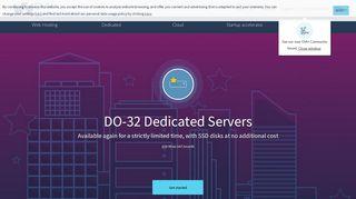 OVH: Web hosting, cloud computing and dedicated servers