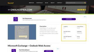Welcome to Owa.hospira.com - Microsoft Exchange - Outlook Web ...
