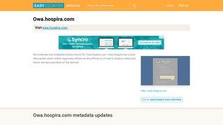 Owa Hospira (Owa.hospira.com) - Microsoft Exchange - Outlook Web ...