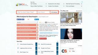 Owa-hospira Web Analysis - Owa-hospira.com