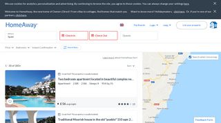 Top 50 Holiday Rentals from £22/night | HomeAway & Owners Direct