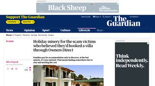 Holiday misery for the scam victims who believed they'd booked a villa ...