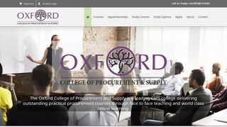 Oxford College of Procurement and Supply