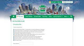 Pennsylvania Lottery - VIP Players Club – Pennsylvania Lottery