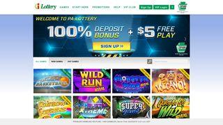 PA iLottery | Online Games | Pennsylvania Lottery - PA iLottery