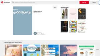 PageQQ Sign Up | Registered | Signs - Pinterest