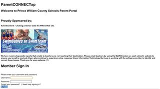 ParentCONNECTxp Sign In - Welcome to Prince ... - Parent Portal