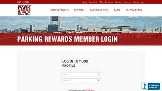 Parking Rewards Member Login - Park Shuttle & Fly