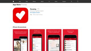 Parship on the App Store - iTunes - Apple