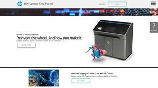 HP Partner Portal