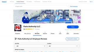 Working as a Delivery Driver at Parts Authority LLC: Employee ...