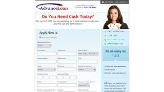 Cash Advance Loans Online - 24/7 Payday Loan - (Recommended)