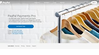 Ecommerce Payment Processing - PayPal Payments Pro - PayPal US