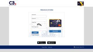 MyC3Card - User Login