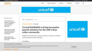 C3 and RAKBANK to bring innovative payroll solutions for the UAE's ...
