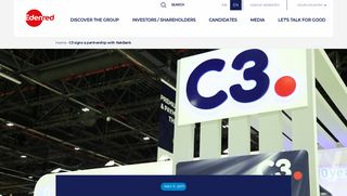 C3 signs a partnership with RakBank | Edenred