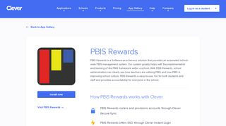 PBIS Rewards - Clever application gallery   Clever