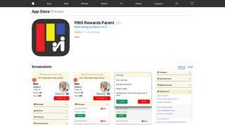 PBIS Rewards Parent on the App Store - iTunes - Apple