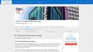 PC Training and Business College | PCTBC-P C Training and Business ...