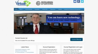 VirtualSC PD   Home   Online Professional Development