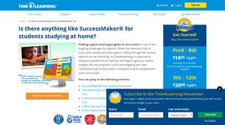 SuccessMaker® Math & Reading – What Alternatives for Home Use ...