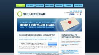 Posta Certificata aziende, ditte, professionisti, PEC nuove società
