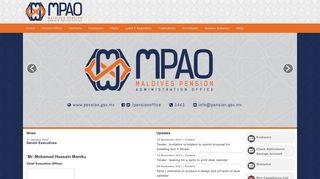 Maldives Pension Administration Office (MPAO)