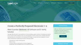 Electronic I-9 Software And E-Verify Solution - Guardian by LawLogix