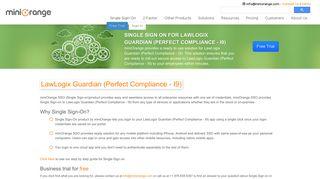 solution for LawLogix Guardian (Perfect Compliance - I9) - miniOrange