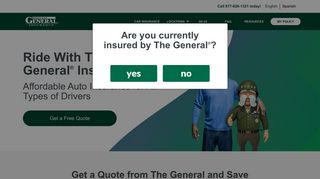 The General® Insurance - Instant Quotes for Reliable Auto Insurance