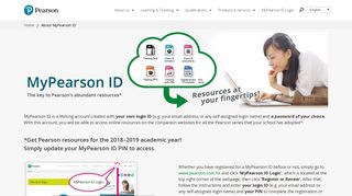 MyPearson ID