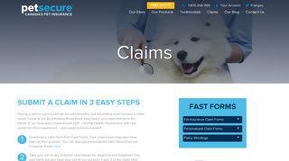 Petsecure Pet Insurance Claims