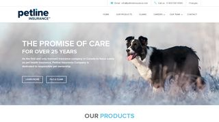 Petline Insurance Company | The Promise of Care