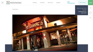 P.F. Chang's China Bistro | HotSchedules