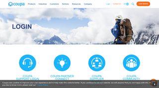 Partner Log-in | Coupa Partner Connect Program | Coupa Software