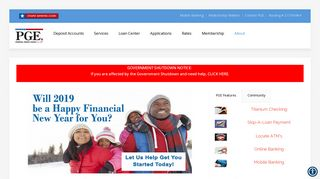 Credit Union, Federal, State, Government Employees - PGE Credit ...