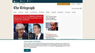 The Telegraph - Telegraph Online, Daily Telegraph, Sunday ...
