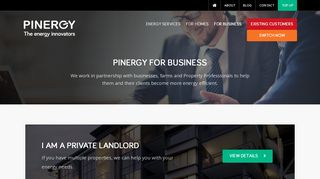 Business Electricty Provider | Pinergy