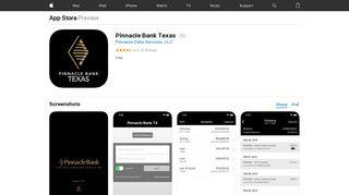 Pinnacle Bank Texas on the App Store - iTunes - Apple