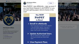 Pitt Student Affairs on Twitter: