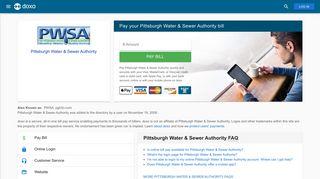 Pittsburgh Water & Sewer Authority (PWSA): Login, Bill Pay, Customer ...