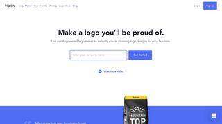 Free Logo Creator & Logo Generator - Make a Logo In Seconds