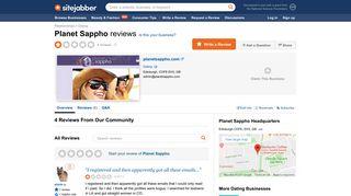 Planet Sappho Reviews - 4 Reviews of Planetsappho.com | Sitejabber