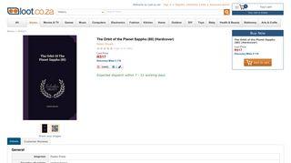 The Orbit of the Planet Sappho (80) (Hardcover): Robert Bryant ...