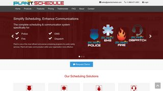 PlanIt: Online Scheduling Software for Public Safety
