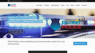 PlanIt Police - Online Scheduling Software for Police Departments